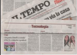 ora x su giornale Il Tempo